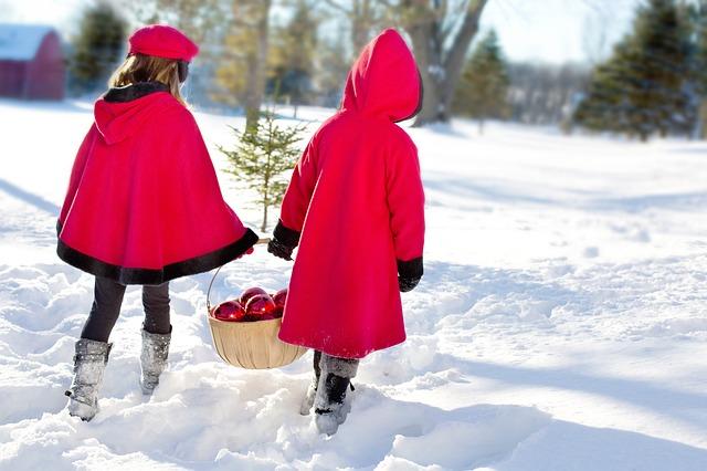 vánoční holky
