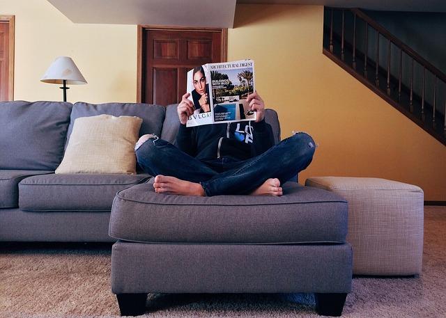 četba časopisu