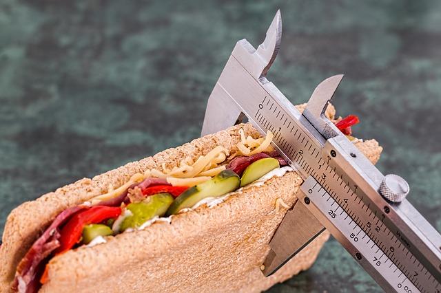 počítání kalorií